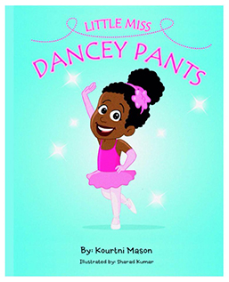 little miss dancey pants first book